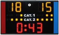 UKPKS-B portable karate scoreboards